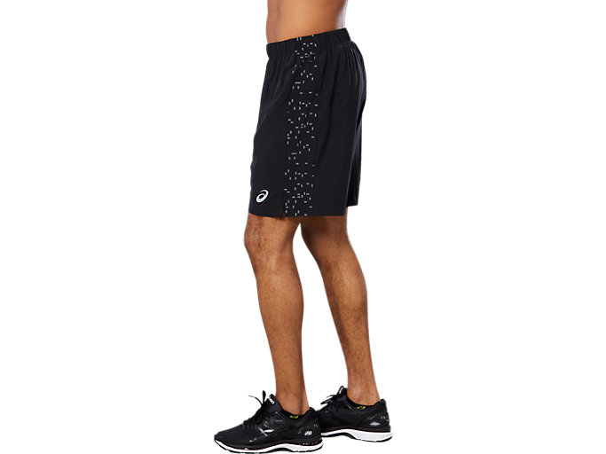 Side view of SPORT 7IN REF SHORT, PERFORMANCE BLACK