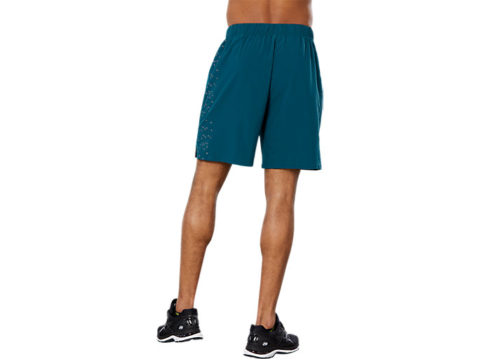 Back view of SPORT 7IN REF SHORT, EVERGLADE