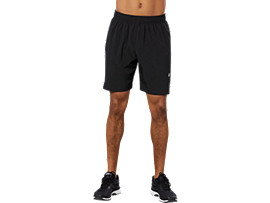 7 INCH SLIT SHORT, PERFORMANCE BLACK