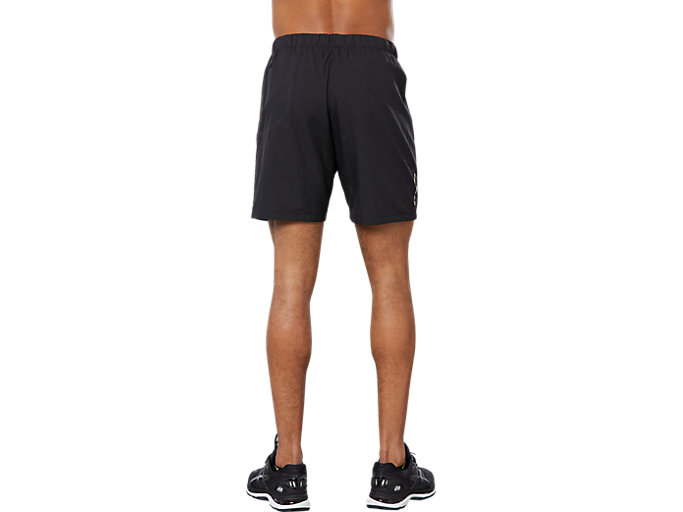 Back view of SPORT 2-IN-1 COOL SHORT, PERFORMANCE BLACK