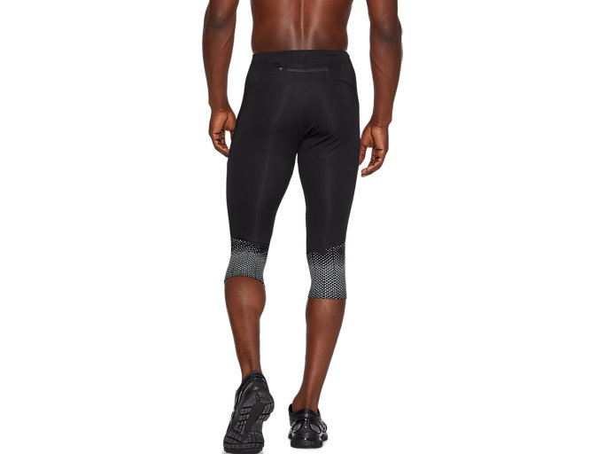 Back view of SPORT RACE KNEE TIGHT, PERFORMANCE BLACK