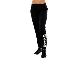 SPORT BIG LOGO PANT, PERFORMANCE BLACK