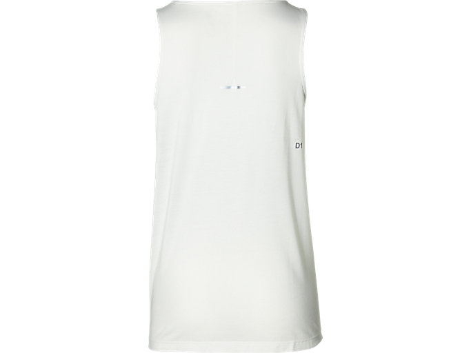 Back view of SPORT DRAPE TANK, CREAM