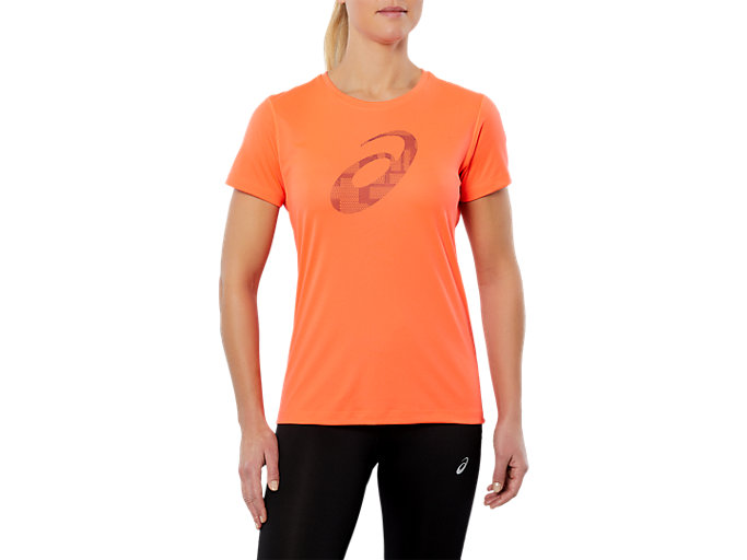 SPORT GPX SS TOP, FLASH CORAL