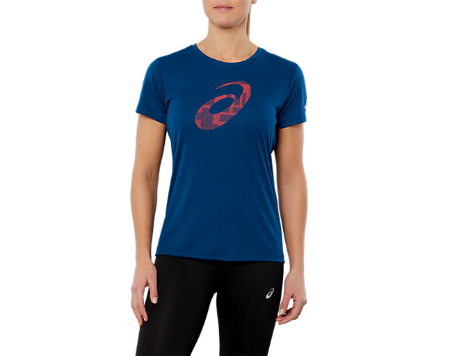 Women's SPORT GPX SS TOP | POSEIDON | Short Sleeve Tops | ASICS