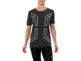 SPORT HEX SS TOP, PERFORMANCE BLACK