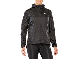 Front Top view of SPORT LIGHTWEIGHT HD JKT, PERFORMANCE BLACK
