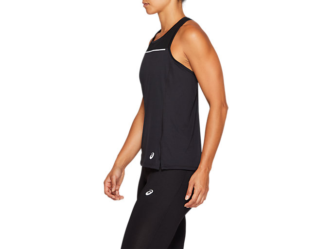 Side view of SPORT REFLECTIVE TANK, PERFORMANCE BLACK