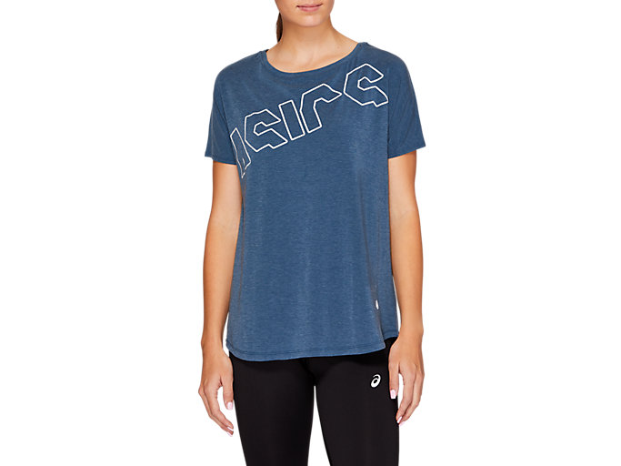 Front Top view of SPORT PRINT OS TEE, 164594.400