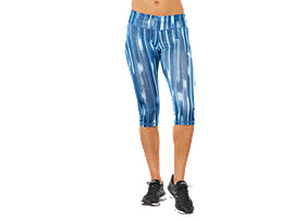 SPORT GPX KNEE TIGHT, AZURE SHADOW PRINT