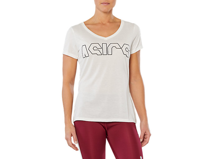 SPORT TRAIN TOP LOGO, CREAM