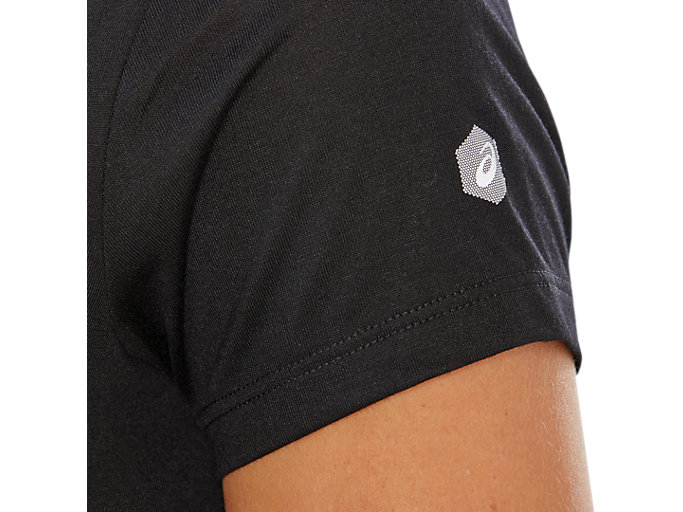Alternative image view of SPORT TRAIN TOP LOGO, PERFORMANCE BLACK