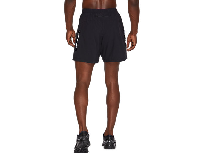 Back view of SPORT WOVEN 2-IN-1 SHORT, PERFORMANCE BLACK