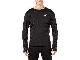 SILVER LS TOP, PERFORMANCE BLACK