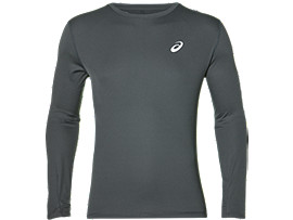 SILVER LONG SLEEVED TOP