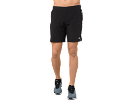 METARUN 7IN SHORT, PERFORMANCE BLACK