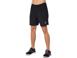 SILVER 7IN SHORTS, PERFORMANCE BLACK