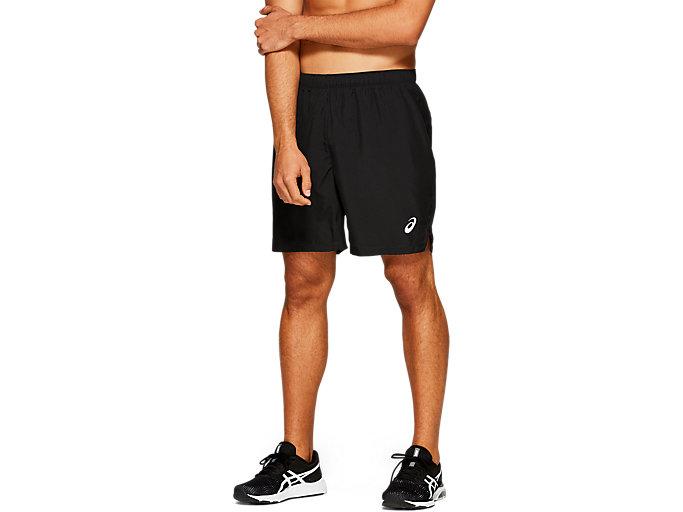 Men's SILVER 7IN SHORT | PERFORMANCE BLACK | Shorts | ASICS