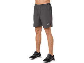 SILVER 7IN SHORTS, DARK GREY