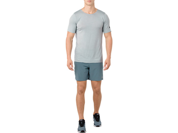 Alternative image view of METARUN SS TOP, MID GREY