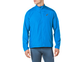 SILVER JACKET, RACE BLUE