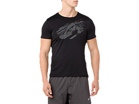 Silver Graphic Short Sleeve T-Shirt