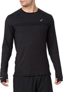 Thermopolis Plus Long Sleeve Shirt Performance Black Heather Performance Black 3 Ft