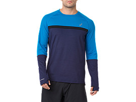 THERMOPOLIS PLUS LS, PEACOAT/RACE BLUE
