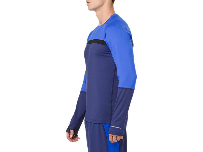 Side view of THERMOPOLIS PLUS LS, INDIGO BLUE