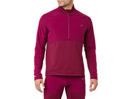 ASICS System Long Sleeve 1/2 Zip Shirt