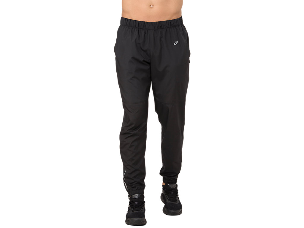 Black Asics X Woven Mens Track Pants Men's Clothing