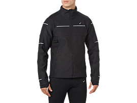 Front Top view of LITE-SHOW WINTERJACKE, PERFORMANCE BLACK