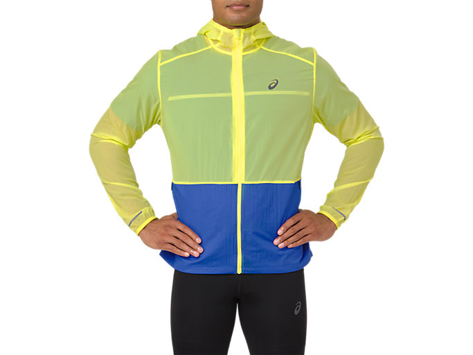 CHAQUETA PLEGABLE, LEMON SPARK/ILLUSION BLUE
