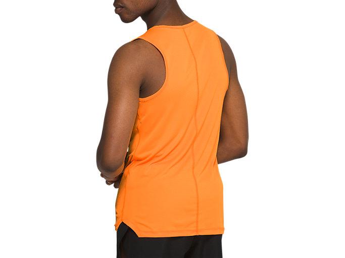 Back view of ランニングシングレット, オレンジポップ