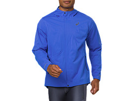 Front Top view of ACCELERATE JACKET, ILLUSION BLUE