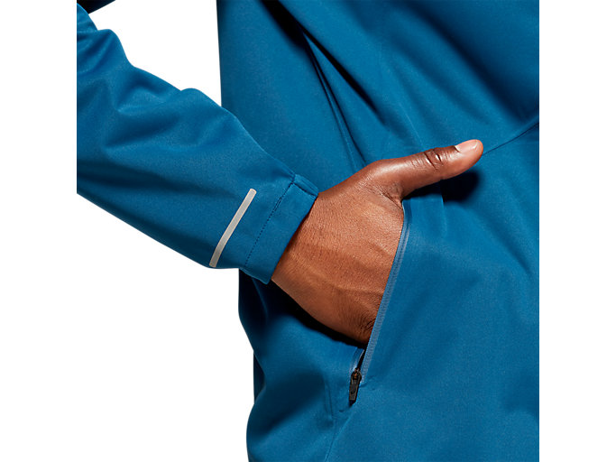 Alternative image view of ACCELERATE JACKET, MAKO BLUE