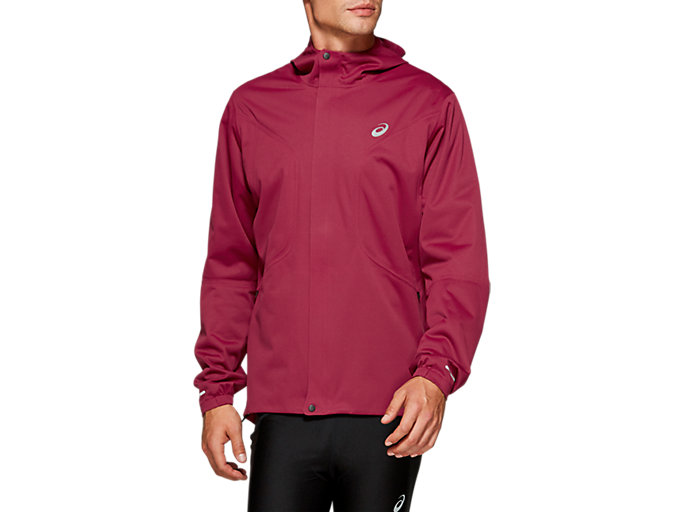 Front Top view of ACCELERATE JACKET, CHILI FLAKE