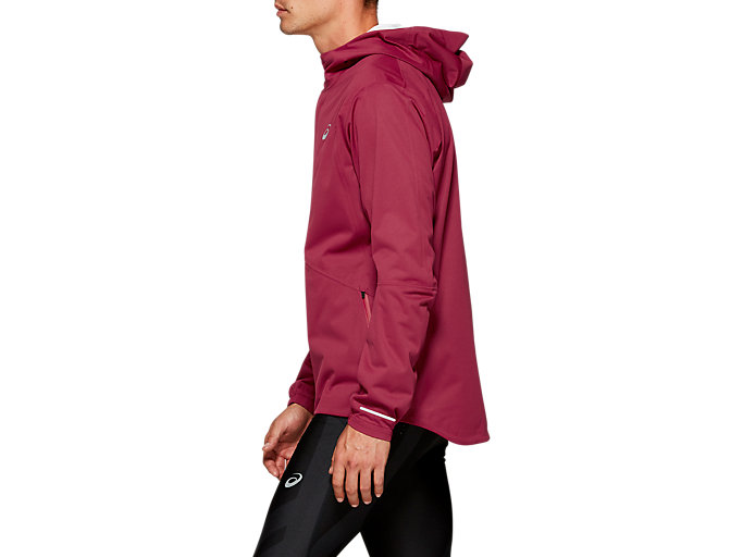 Side view of ACCELERATE JACKET, CHILI FLAKE