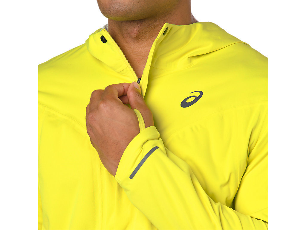459650b854c ACCELERATE JACKET | Men | LEMON SPARK | Men's Jackets & Vests | ASICS