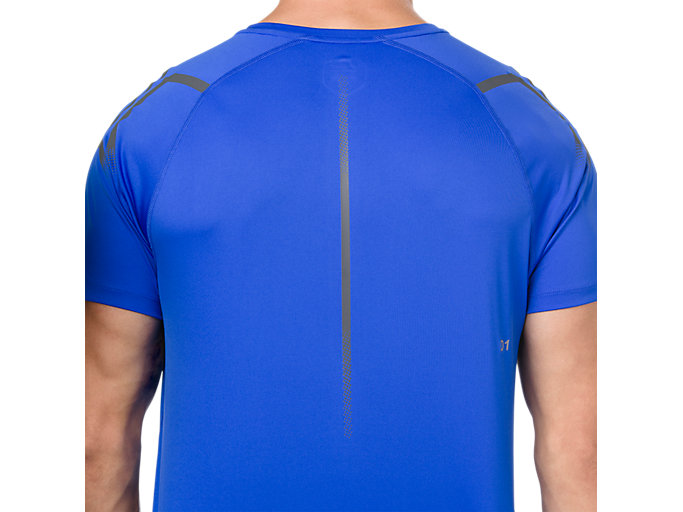 Alternative image view of ICON SS TOP, ILLUSION BLUE/DARK GREY