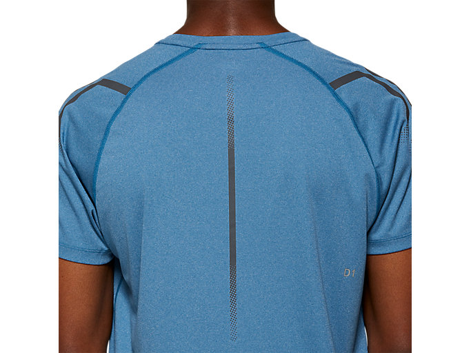 Alternative image view of ICON SS TOP, DEEP SAPPHIRE HEATHER