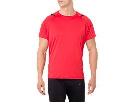 ICON SS TOP, RED ALERT/PERFORMANCE BLACK