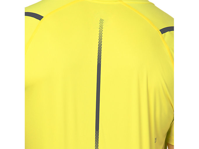 Alternative image view of ICON SS TOP, LEMON SPARK/DARK GREY