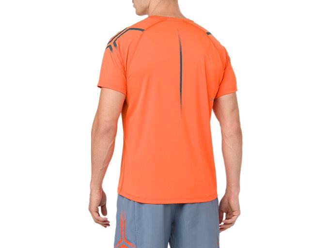 Men's ICON SS TOP | NOVA ORANGEDARK GREY | Short Sleeve