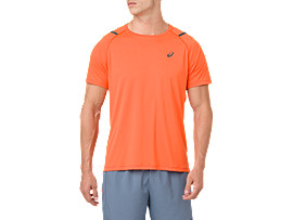 ICON SS TOP, NOVA ORANGE/DARK GREY