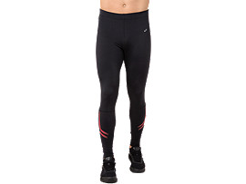 ICON TIGHT, PERFORMANCE BLACK/RED ALERT