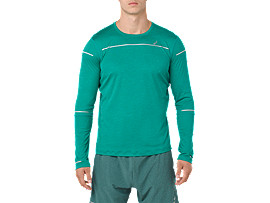 Camiseta de manga larga de running Lite-Show para hombre, JUNGLE