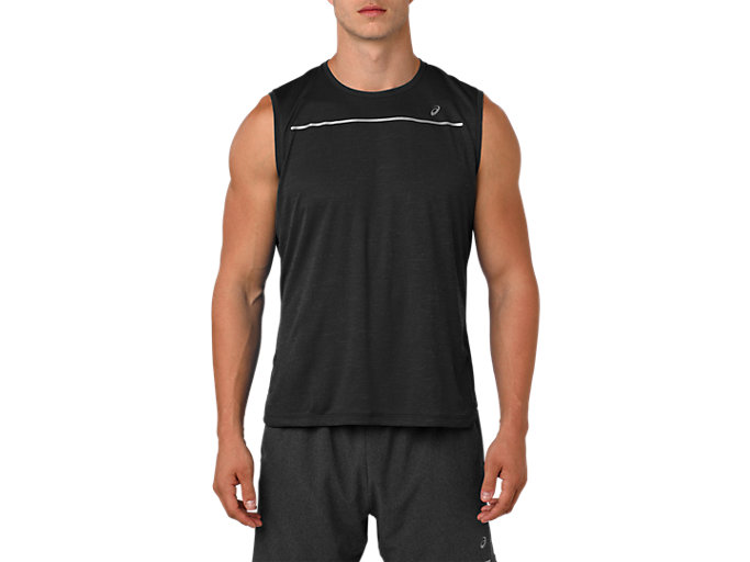 Alternative image view of LITE-SHOW SLEEVELESS, PERFORMANCE BLACK