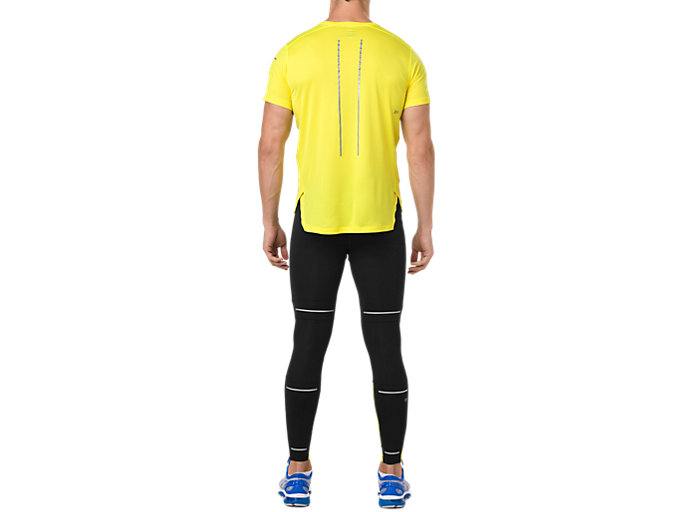 Back view of LITE-SHOW SS TOP, LEMON SPARK