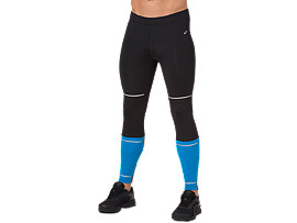 Front Top view of MALLAS LITE-SHOW, PERFORMANCE BLACK/RACE BLUE